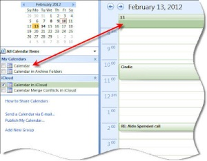 how to make livecal file to icloud calendar